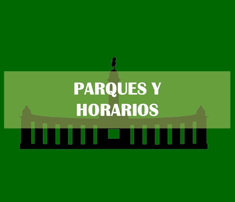 Parques y Horarios